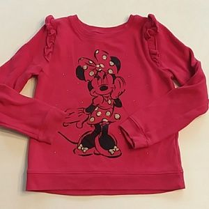 Disney jumping beans red Minnie Mouse sweatshirt 6